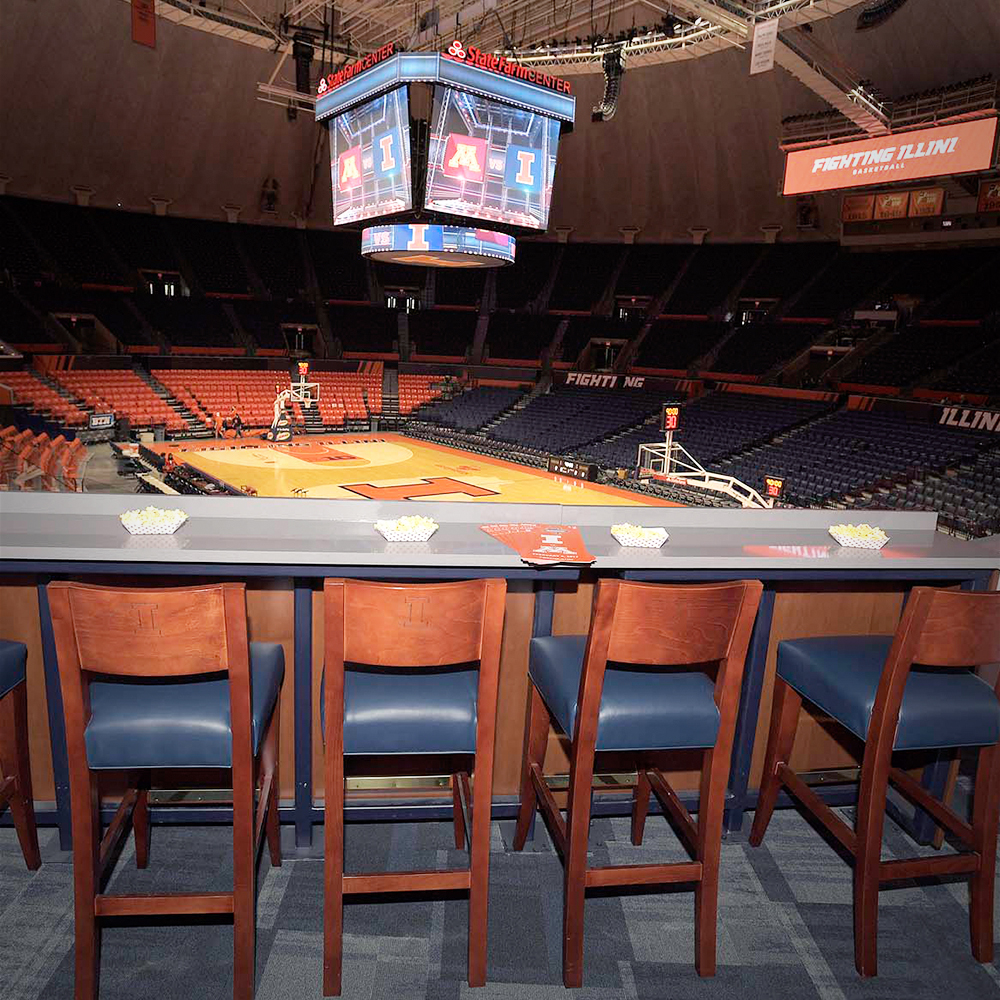 Illinois Premium Seating State Farm Center